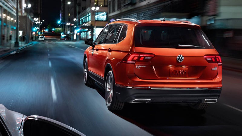 2018 Volkswagen Tiguan Leith Volkswagen Of Raleigh