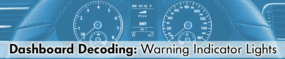 Leith Volkswagen Of Raleigh Dashboard Decoding Warning Indicator Lights